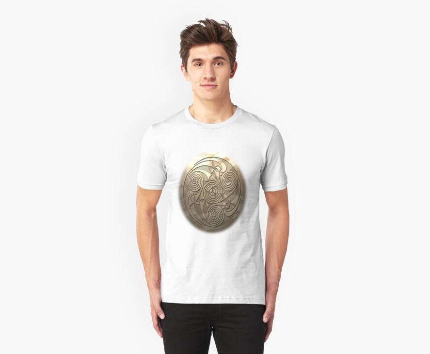 Shield Seal T-Shirt Style A by quigonjim