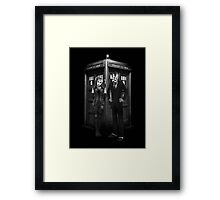 Mad Man outside a Box Framed Print