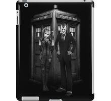 Mad Man outside a Box iPad Case/Skin