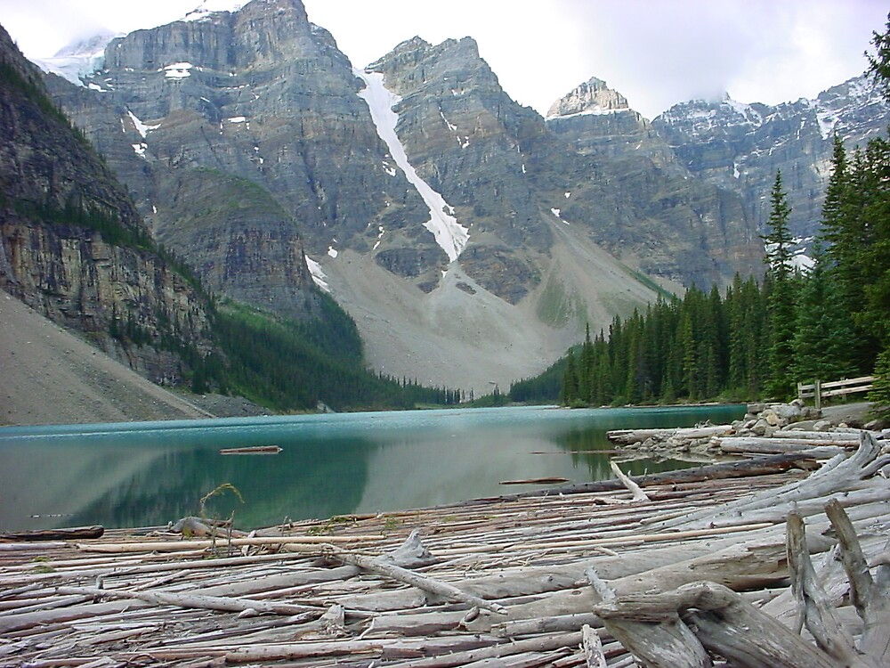 Morraine Lake-Valley Of The Ten Peaks by Terry Krysak