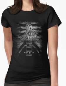 Music is a dialectic Memory game; It is History with a Heartbeat Womens Fitted T-Shirt