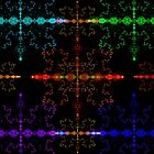 A Rainbow of Snowflakes by barrowda