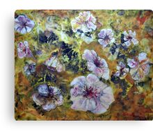 Cosmic Flowers * Canvas Print