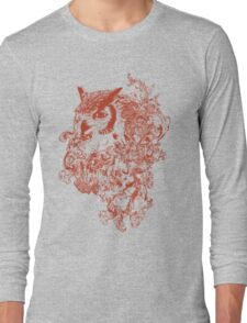 Owl Obscure Long Sleeve T-Shirt