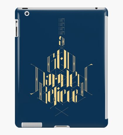 Blank Maps iPad Case/Skin