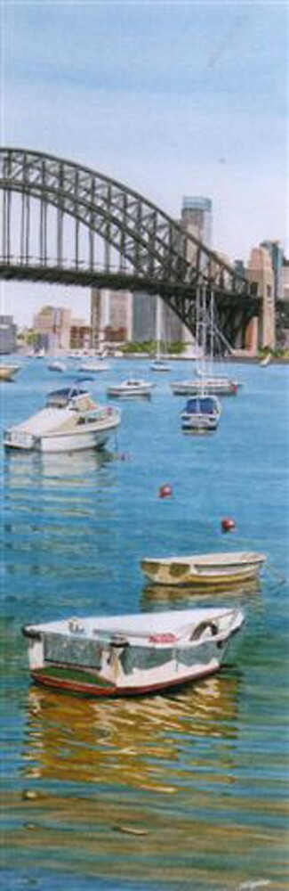 Lavender Bay, Sydney by Freda Surgenor