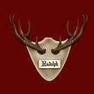 reindeer antlers by yvonne willemsen