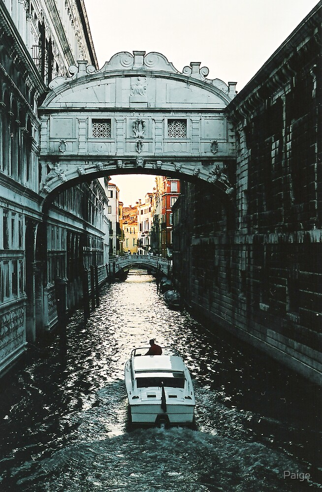 Venetian Canal by Paige