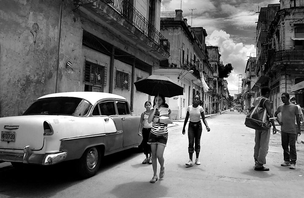 Street scene by afisilver