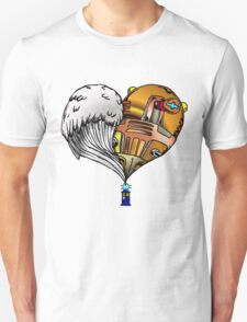 Love and Hate Tardis Unisex T-Shirt