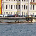 Sultan's Boat in the Bosphorus by Anita Donohoe