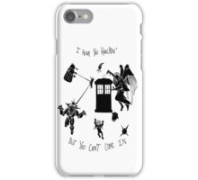Tardis and Friends iPhone Case/Skin
