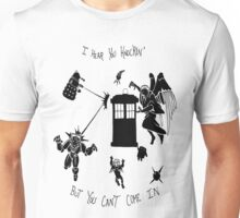 Tardis and Friends Unisex T-Shirt