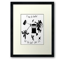 Tardis and Friends Framed Print