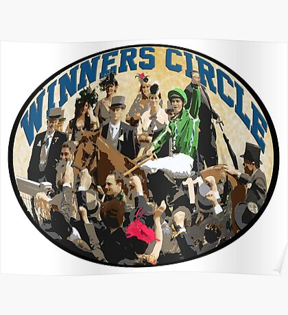 Horse Racing - The Winners Circle Poster