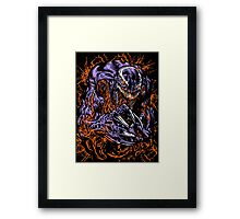 Black Spidey Framed Print