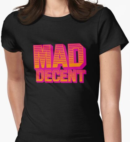Mad Decent Womens Fitted T-Shirt