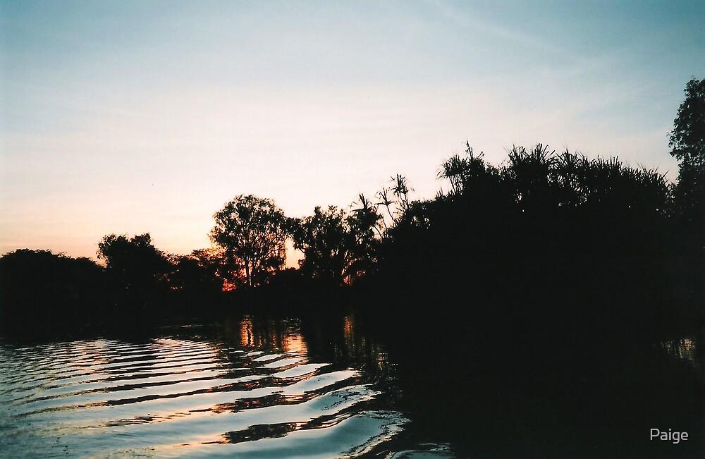Billabong at dawn by Paige