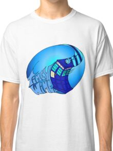 Timey Wimey Tardis Classic T-Shirt