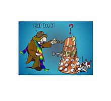 Good Boy, Bad Dalek Photographic Print