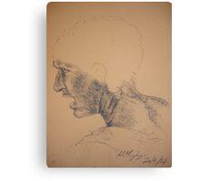 Da Vinci - copy Canvas Print