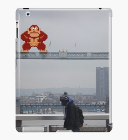 Donkey Kong In London iPad Case/Skin