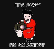 I'm an Artist- Black Edition Unisex T-Shirt