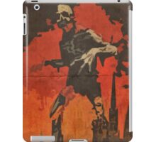 Do Your Part to Stop the Uprising iPad Case/Skin