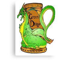 The Green Dragon Canvas Print
