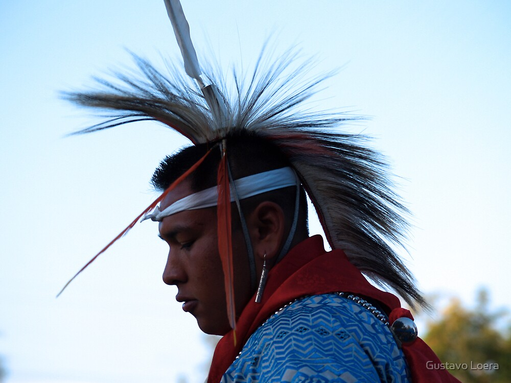 American Indian by Gustavo Loera