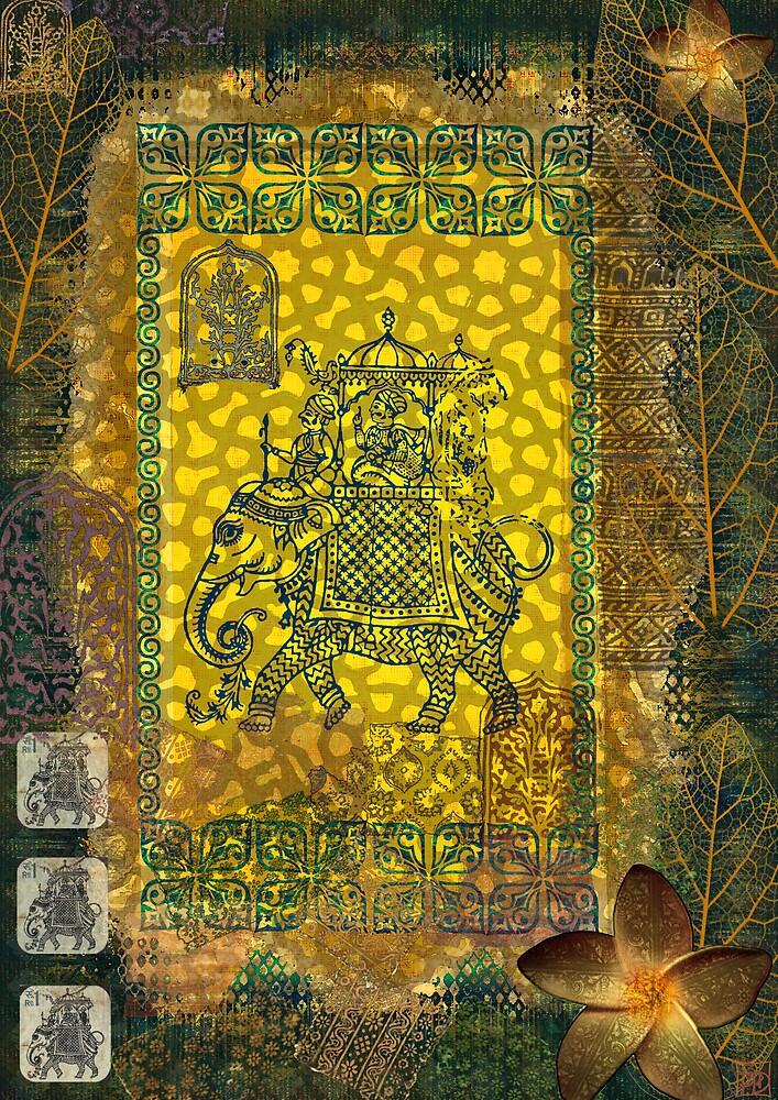 Ganesha II by Sabine Spiesser
