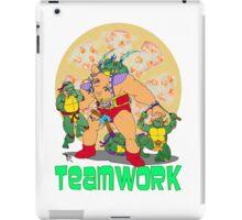 Turtle Teamwork iPad Case/Skin