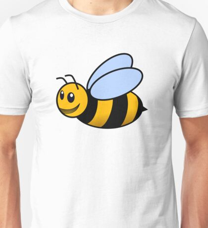 Cute Bee Smiling Unisex T-Shirt