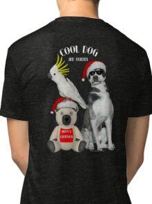 Cool Dog and Friends Tri-blend T-Shirt