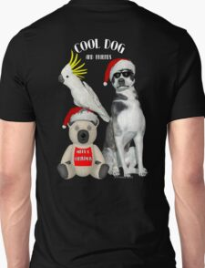 Cool Dog and Friends Unisex T-Shirt