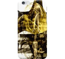 The World Becomes What We Create Via Our Energy  iPhone Case/Skin