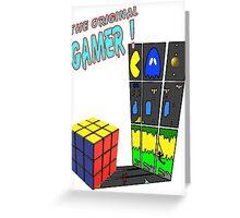 Original Gamer Greeting Card