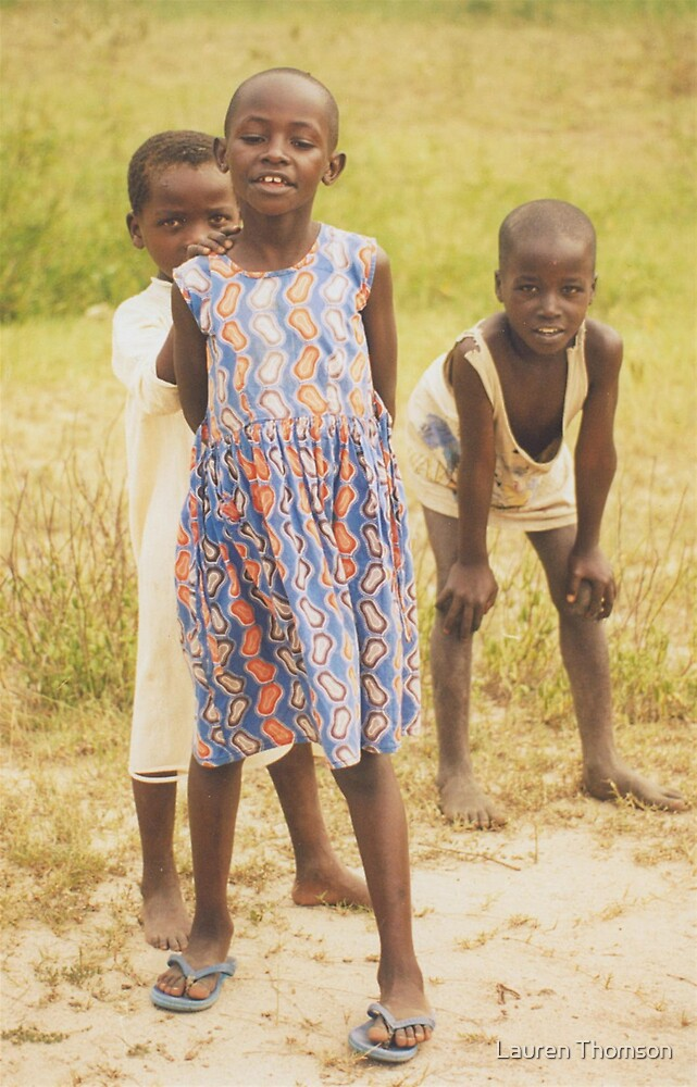 More cheeky children by Lauren Thomson