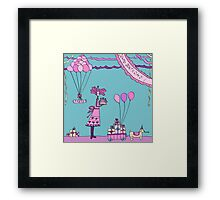 Silly Party  Framed Print