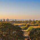Myanmar. Bagan. View from the top of the Temple. by vadim19