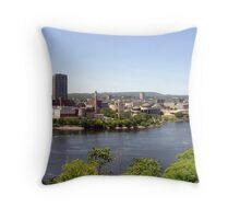 Beautiful Downtown Ottawa Throw Pillow
