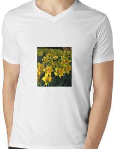 Tulsa Daffodils of Spring Mens V-Neck T-Shirt