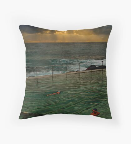 Bronte Baths Throw Pillow