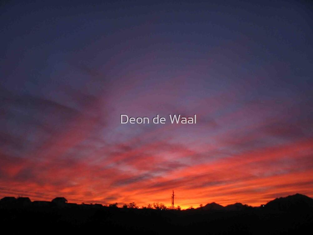 Sunset Lining by Deon de Waal