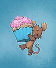 Cupcake Mouse by dooomcat