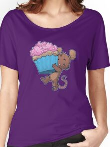 Cupcake Mouse Women's Relaxed Fit T-Shirt
