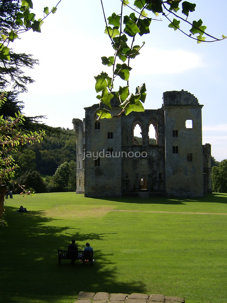 wardour castle by jaydawnooo