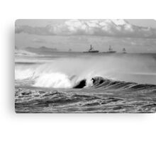 Bar/Dixon Beach Canvas Print