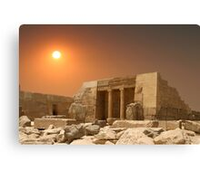 ONCE THERE WERE PHARAOHS Canvas Print