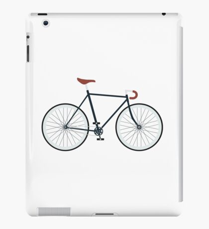 Fixie, Fixed Gear, Biking Cycler iPad Case/Skin